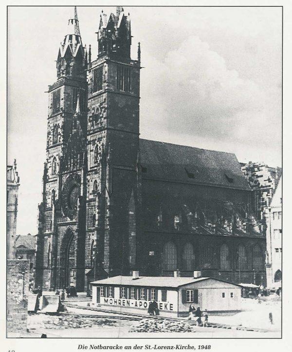 Mohren Apotheke Nürnberg Notapotheke an der Lorenzkirche