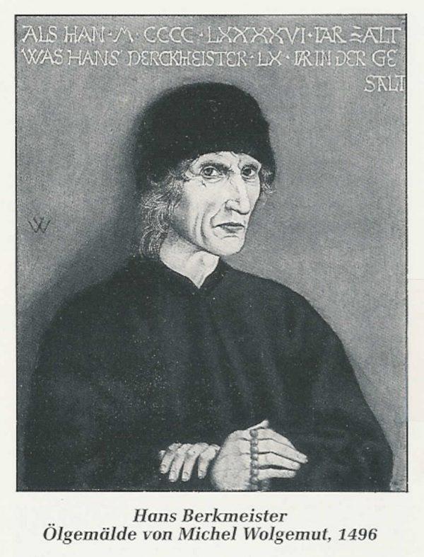Mohren Apotheke Nürnberg Hans Berkmeister von Michael Wolgemut
