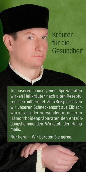 Apotheke Nürnberg Kräuterbanner