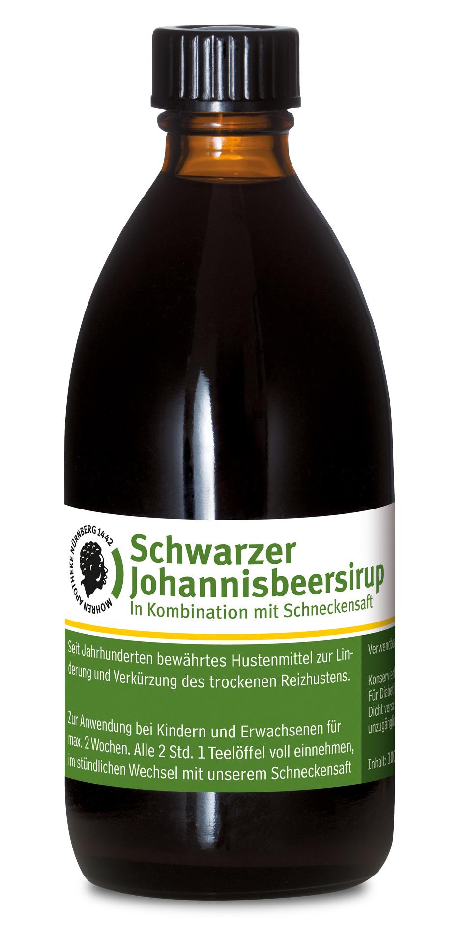 Mohren-Apotheke Nürnberg Schwarzer Johannisbeersirup