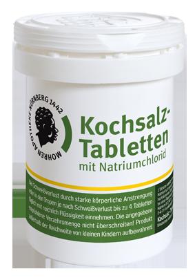 Mohren-Apotheke Nürnberg Kochsalztabletten