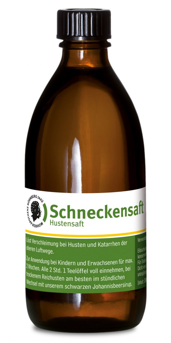 Mohren-Apotheke Nürnberg Schneckensaft