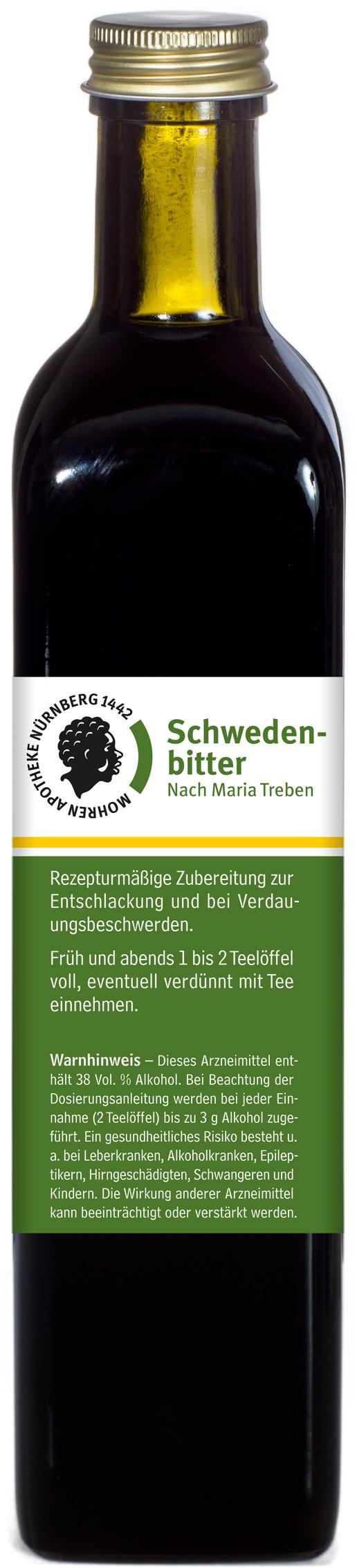 Mohren-Apotheke Nürnberg Schwedenbitter